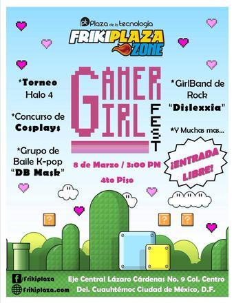 Gamer Girl Fest cartel