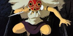 Máscara para Mononoke Hime