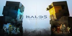 Nuevos skins de Halo 5 para Minecraft